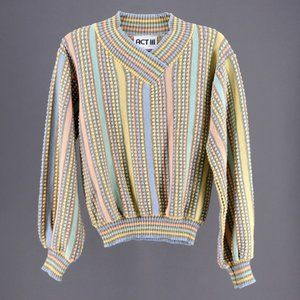 Vintage Pastel Sweater Size M